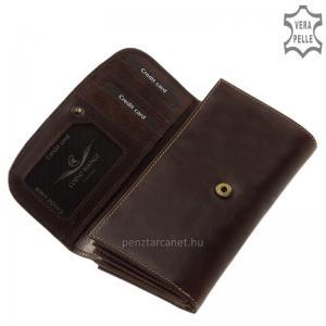 Bőr női pénztárca Corvo Bianco BV155