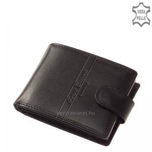 Corvo Bianco Luxury bőr férfi pénztárca CBS102/T fekete