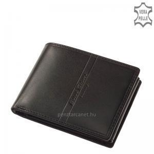 Corvo Bianco Luxury bőr férfi pénztárca CBS1021 fekete