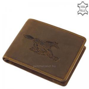 GreenDeed férfi pénztárca lovas mintával ALF09