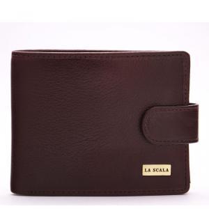 La Scala bőr férfi pénztárca barna R6002L/T
