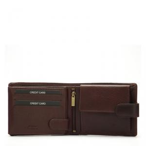 La Scala férfi bőr pénztárca barna R1021/T