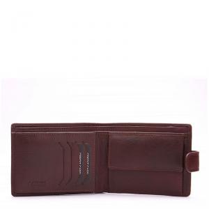 La Scala férfi bőr pénztárca barna R9641/T