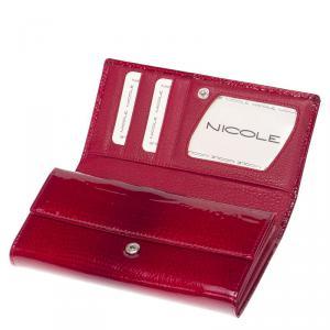 Nicole croco női bőr pénztárca C64003-014