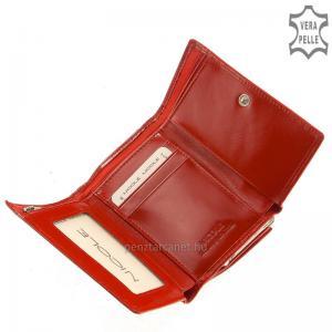 Nicole női bőr pénztárca 46002 piros