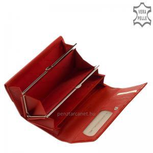 Nicole női bőr pénztárca 64003 piros