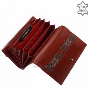 S. Belmonte női pénztárca piros C3257