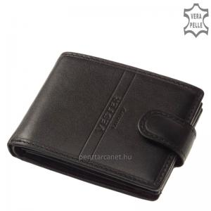 Vester Luxury bőr férfi pénztárca VO102/T fekete