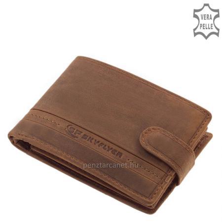 Classic SKYFLYER vintage férfi pénztárca barna SVL1021/T