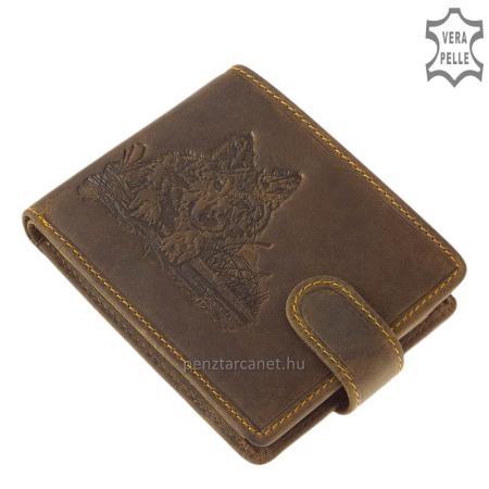 Férfi pénztárca farkas mintával GreenDeed WOLF99/T