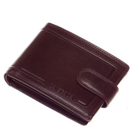 La Scala férfi bőr pénztárca barna PV102/T