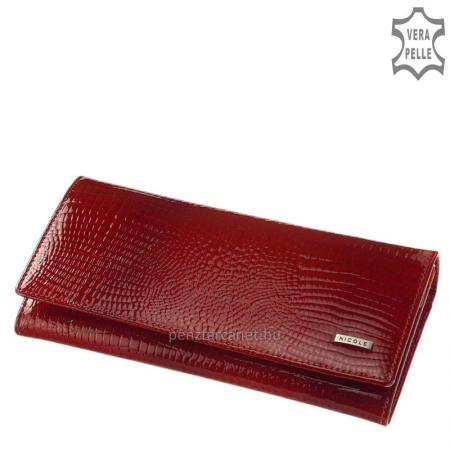 Nicole croco bőr női pénztárca C72076-014