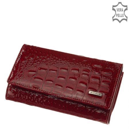 Nicole croco bőr női pénztárca C55021-017