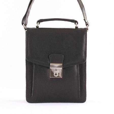 S. Belmonte férfi táska fekete XE18035