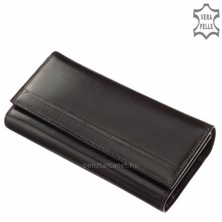 S. Belmonte pénztárca fekete C3257