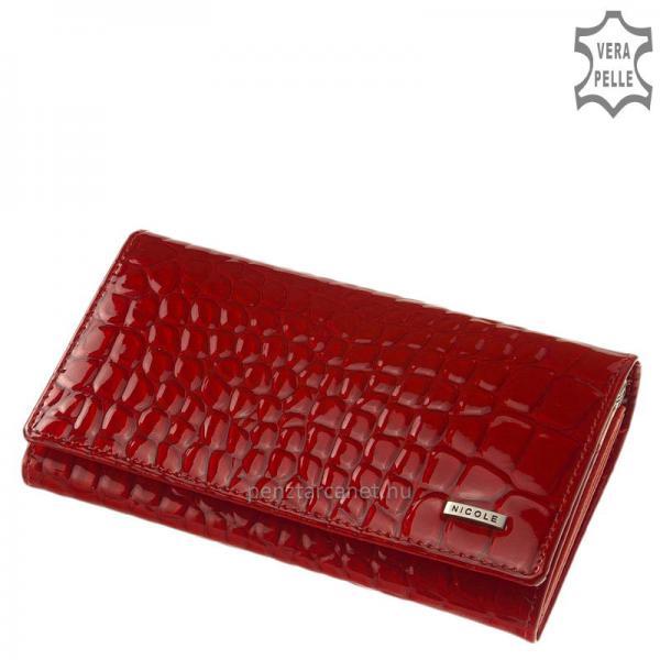 Nicole croco bőr női pénztárca C60001-145